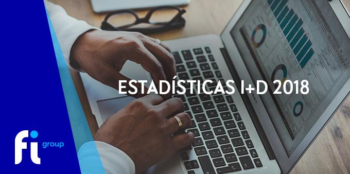 estadísticas I+D 2018